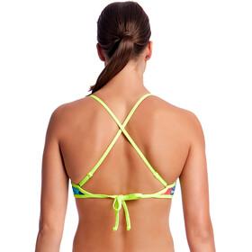 Funkita Cross Back Tie Bikini Top Women Layer Cake